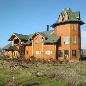 IZBA-UA будинок з клеєного брусу Літки