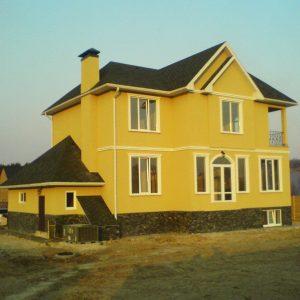 IZBA-UA каркасний будинок Хатьянівка 2