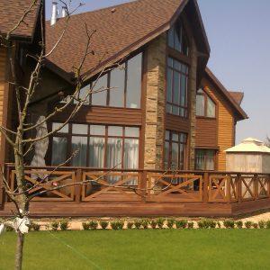 IZBA-UA каркасний будинок Стугна