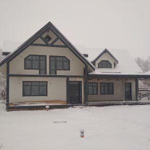 IZBA-UA каркасний будинок Красне