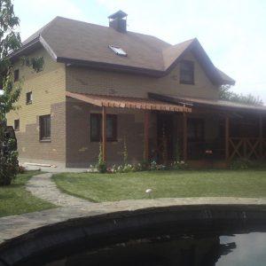 IZBA-UA каркасний будинок Скибін