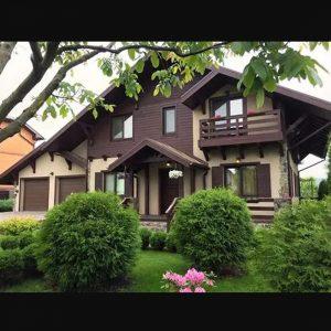 IZBA-UA каркасний будинок Романків